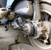 Почему скутер греется: неисправности вариатора