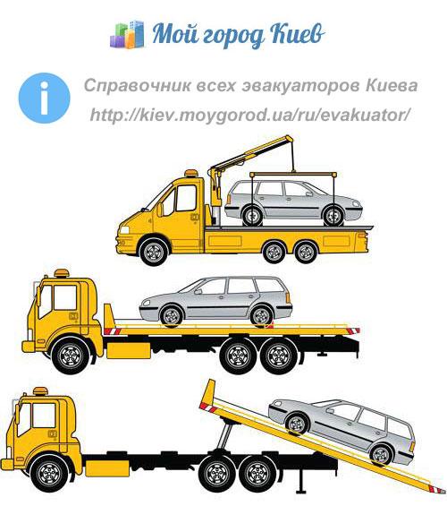 Справочник всех эвакуаторов Киева